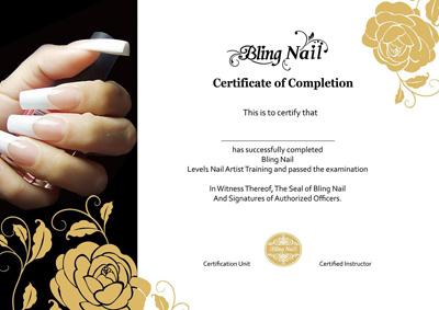 BlingGel.com   Bling Nail Nail Artist Training Program, Bling Nail ...